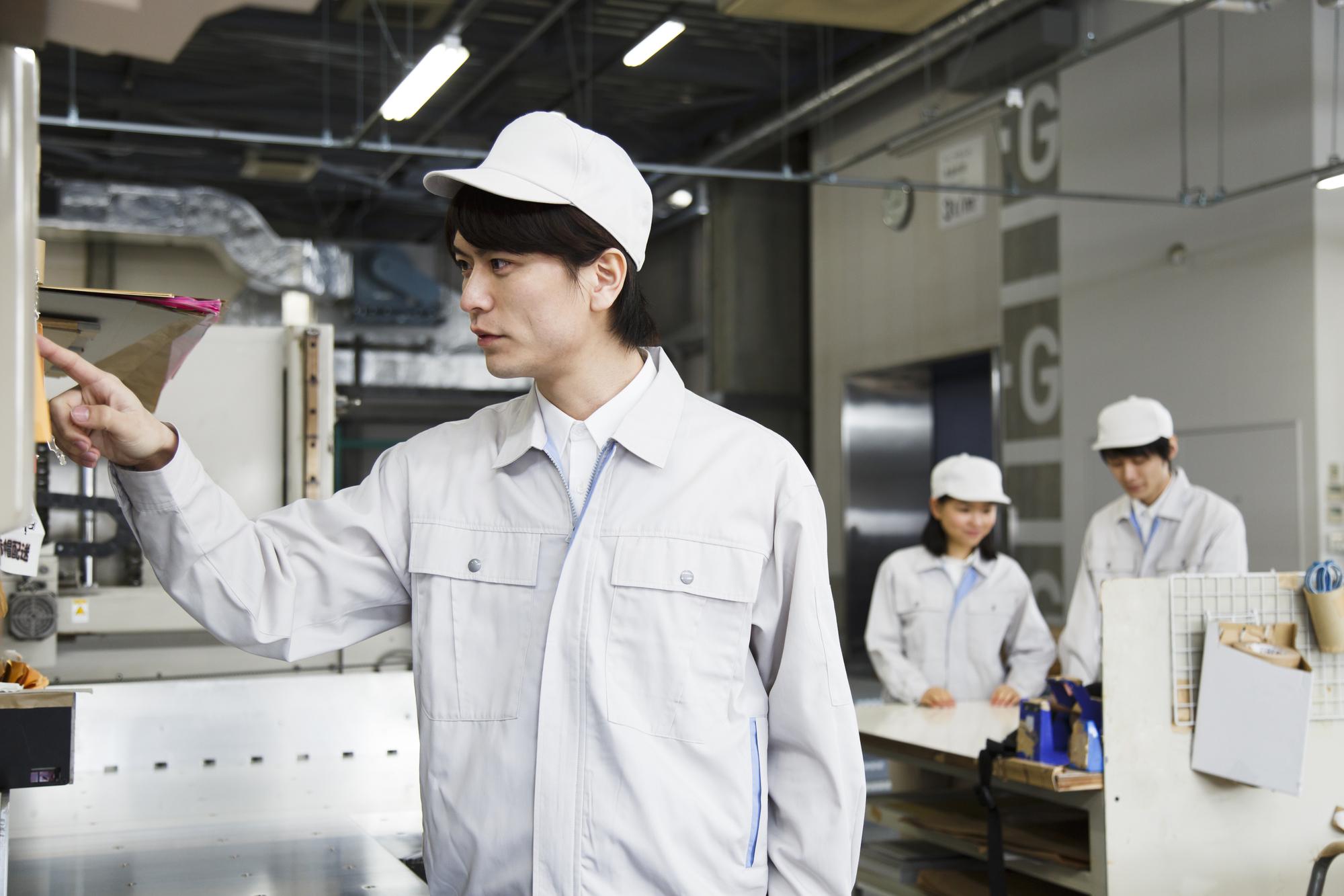 工場勤務のメリット